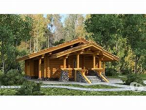 chalet en rondin de 220mm diam location forestina With charming maison rondin bois prix 7 prix maison bois en kit maison bois kit en