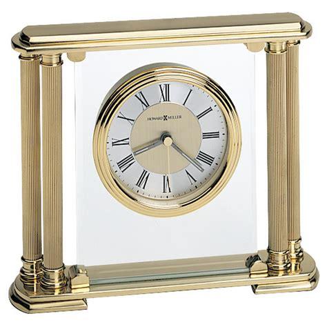 howard miller table clock howard miller athens solid brass table clock 613627