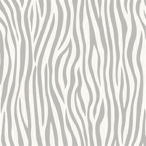 Textured Animal Print Wallpaper - muriva safari zebra print animal skin fabric