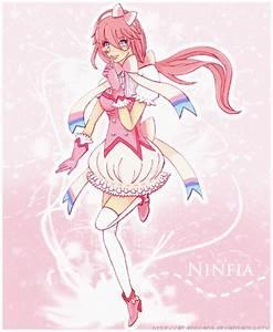 Ninfia ~ Pokemon Humanizated ~ Gijinka by AmeNoHana on ...