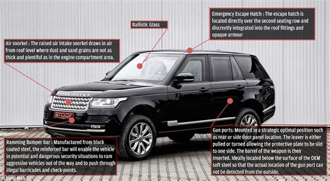 Chelsea tractor? No, it's a £300k hijack-proof Chelsea ...