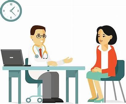 Patient Doctor Vector Patience Clip Cartoon Illustration