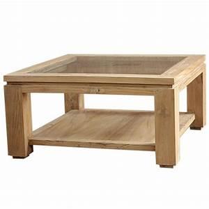 Table Basse Carrée : table basse moderne en teck massif en vente chez origin 39 s meubles ~ Teatrodelosmanantiales.com Idées de Décoration