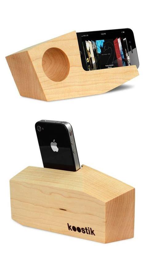 wood iphone amplifier speaker passive amplification