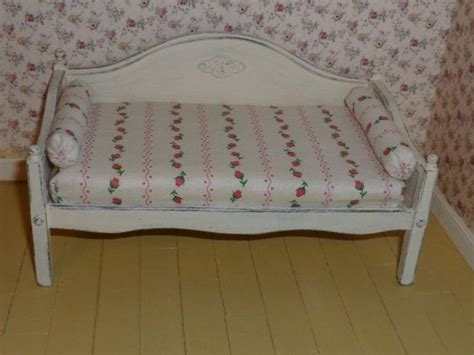 shabby chic bed sale shabby chic miniature day bed for dollhouse wishing for spring sale