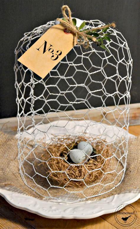 tuesdays farmhouse fancy chicken wire