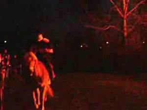 Sleepy Hollow, Illinois Headless Horseman sighting - YouTube
