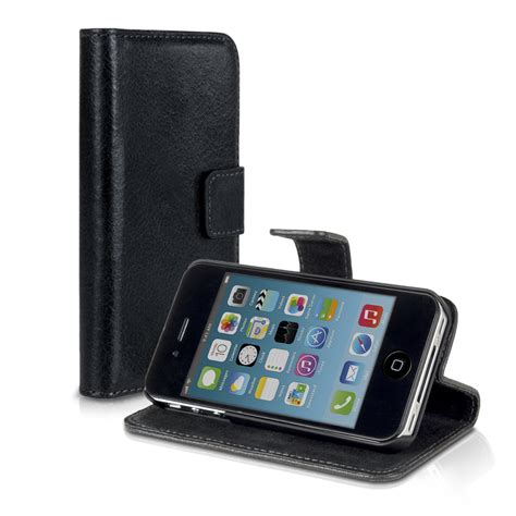 Iphone 4 Bookcase by Leather For Apple Iphone 4 4s Wallet Book Pocket