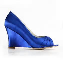 wedding shoes blue blue wedding shoes wedges with open toe ipunya