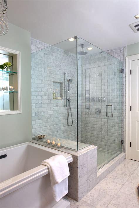 amazing bathrooms  walk  showers