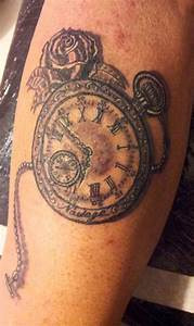 Tatouage Horloge Dessin : tattoo pocket watch tatouage montre gousset new tattoo studio ~ Melissatoandfro.com Idées de Décoration