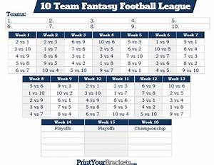 league schedule maker excel