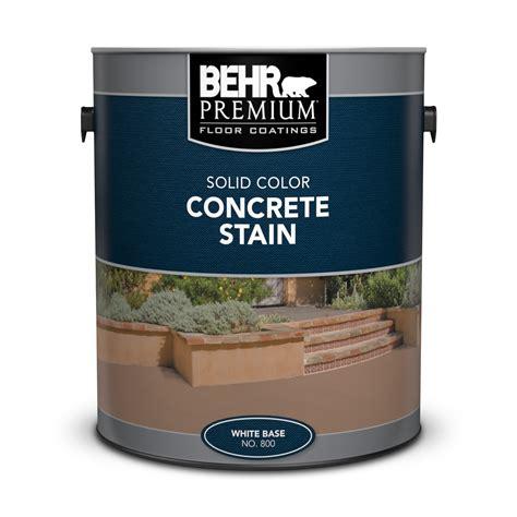 behr concrete stain colors solid color concrete stain behr premium 174 behr