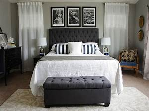 Modern Nice Design Of The Chic Master Bedroom Decorating ...