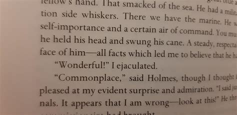 sherlock suddenly holmes reading comments