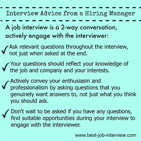 good questions to ask during a job interview perfect your job interview technique