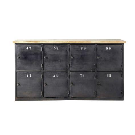 chambre des metier 95 comptoir indus en métal anthracite l 160 cm alésia