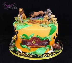 Lion King Birthday Cake – Sweet Passion Cakery