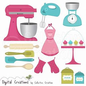 kitchen tools clip art - Free Large Images | Ideas para el ...
