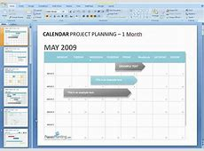 How to edit a calendar in PowerPoint YouTube