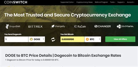 Get live crypto exchange rates, historical prices & charts for doge to btc with coincodex's free cryptocurrency calculator. Blockchain Transactions Bitcoin To Dogecoin Exchange Rate