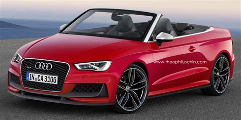 Rs3 Convertible by Possible Audi Rs3 Cabriolet Rendered Gtspirit