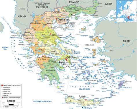 loutraki greece map