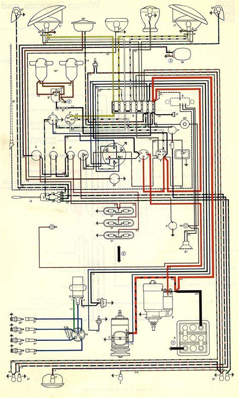 1976 Vw Bu Fuse Box by 1963 Wiring Diagram Usa Thegoldenbug