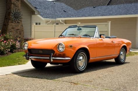 real  stock  fiat  sport spider