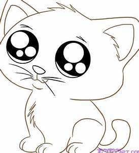 Cute Cartoon Animals With Big Eyes To Draw   Pets For ...