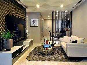 small modern divider for living room With interior design for living room partition