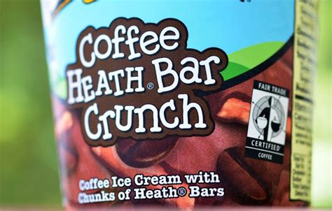(no reviews yet) write a review. food and ice cream recipes: REVIEW: Ben & Jerry's Coffee Heath Bar Crunch