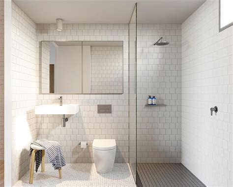 THREE different types of tiles in such a small space