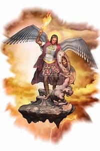 Angel Michael Defeats Lucifer Pictures Archangel Satan In ...