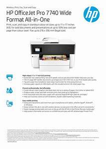 Hp Officejet Pro 7740 Manual Pdf  U0026gt  Lowglow Org