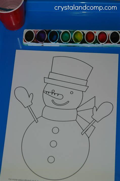snowman do a dot printables for preschoolers 297 | snowman preschool do a dot printables