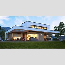 Ein Fertighaus Modern Kötz Haus Das Ziegelmassive Aus Der