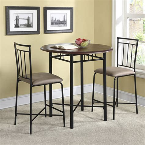 Walmart Round Kitchen Table Sets by High Top Table Sets To Create An Entertaining Dining Space