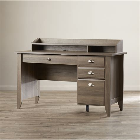 wayfair desk with drawers andover mills revere 3 drawer computer desk reviews