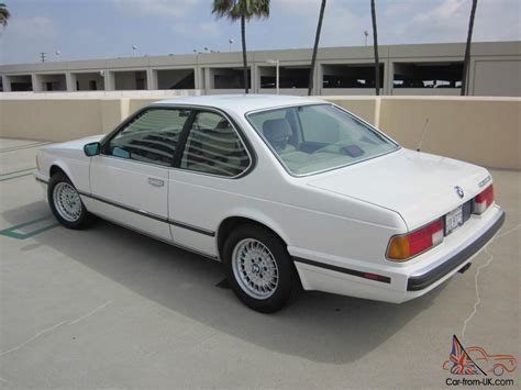 1989 Bmw 635csi Base Coupe 2-door 3.5l