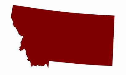 Montana Svg State Outline Elections States Clipart