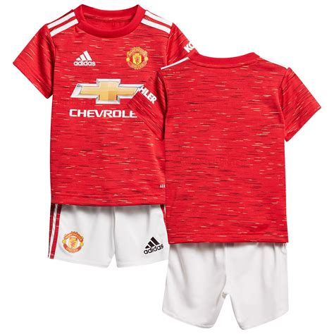 Manchester United Home Baby Kit 2020-21