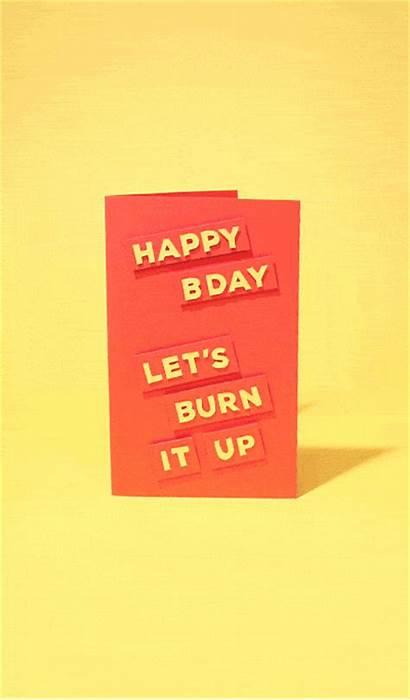 Birthday Happy Cards Gifs Giphy Bot Burn