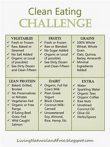 Living Natural and Free: Clean Eating Challenge