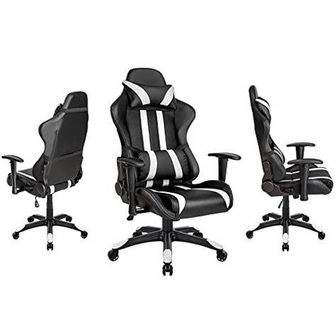 position ergonomique au bureau tectake chaise fauteuil siège de bureau racing sport
