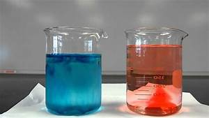 Diffusion Of Dye In A Liquid