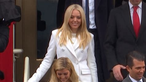 trump tiffany law donald daughter graduates graduation georgetown