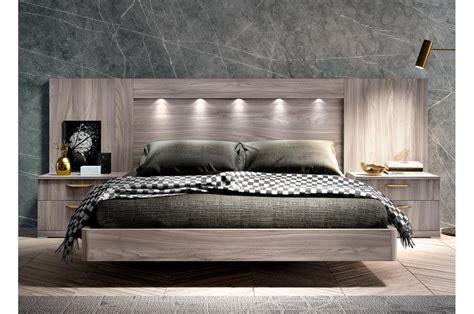 lit adulte  places design  cm tete de lit led