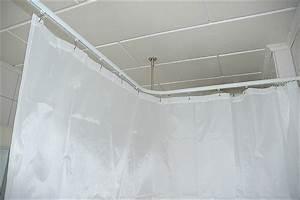 Duschvorhangstange Für Badewanne : duschstange l form f r dusche badewanne oder barrierefreier duschbereich f r behinderten ~ Markanthonyermac.com Haus und Dekorationen