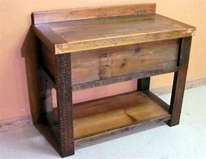 Waschtisch Holz Mit Aufsatzwaschbecken